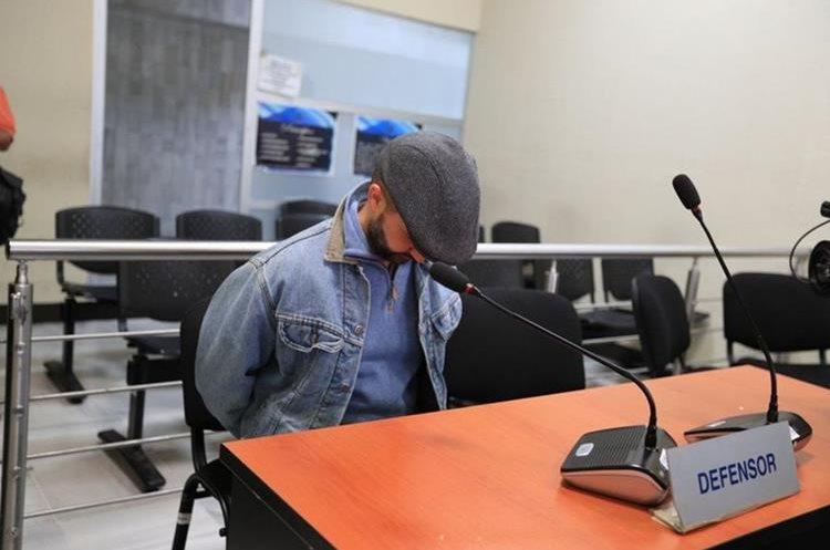 Según la defensa de Chacón Yurrita padece de complicaciones de salud. (Foto Prensa Libre: Carlos Hernández Ovalle)