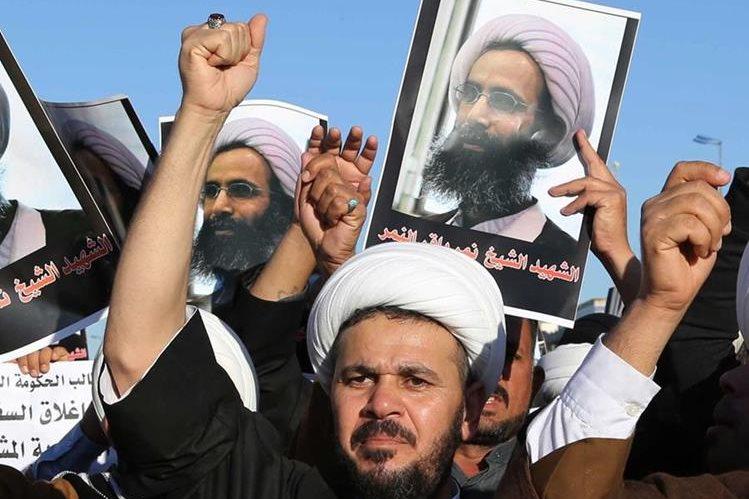 La crisis entre la monarquía sunita y la República islamica chií estalló este fin de semana, tras la ejecución en Arabia Saudita de Nimr el Nimr. (Foto Prensa Libre: AP).
