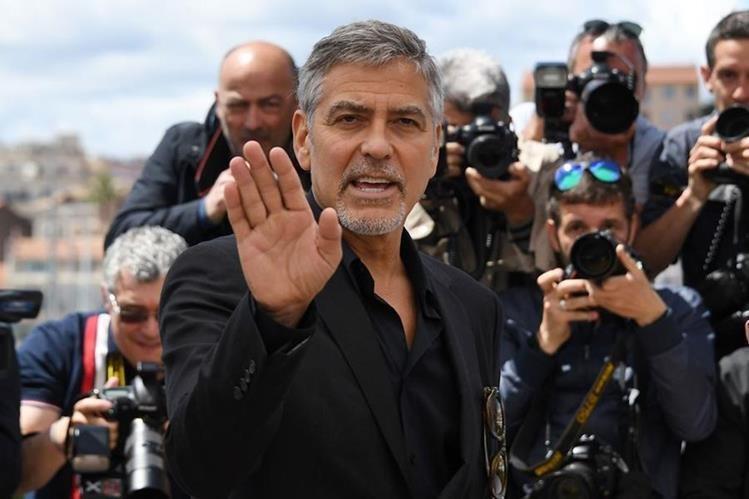 George Clooney presentó en Cannes la película Money Monster. (Foto Prensa Libre: AFP)