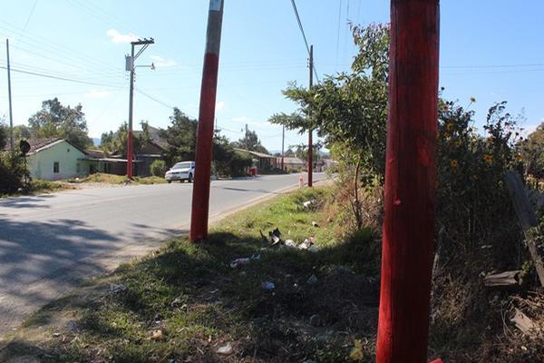 """<p>Alcalde acusa a Líder de pintar postes rojo. (Foto Prensa Libre: Mike Castillo)<br _mce_bogus=""""1""""></p>"""