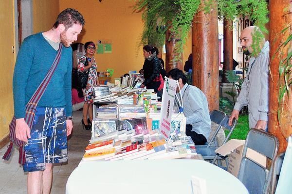 Xela fue sede del Festival del Libro en Xela (Foto Prensa Libre: Alejandra Martínez)