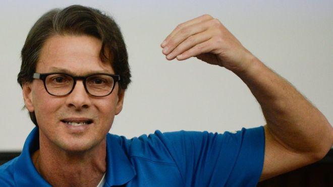 Lorenzo Mendoza es para muchos el candidato perfecto para pelear contra Nicolás Maduro. AFP