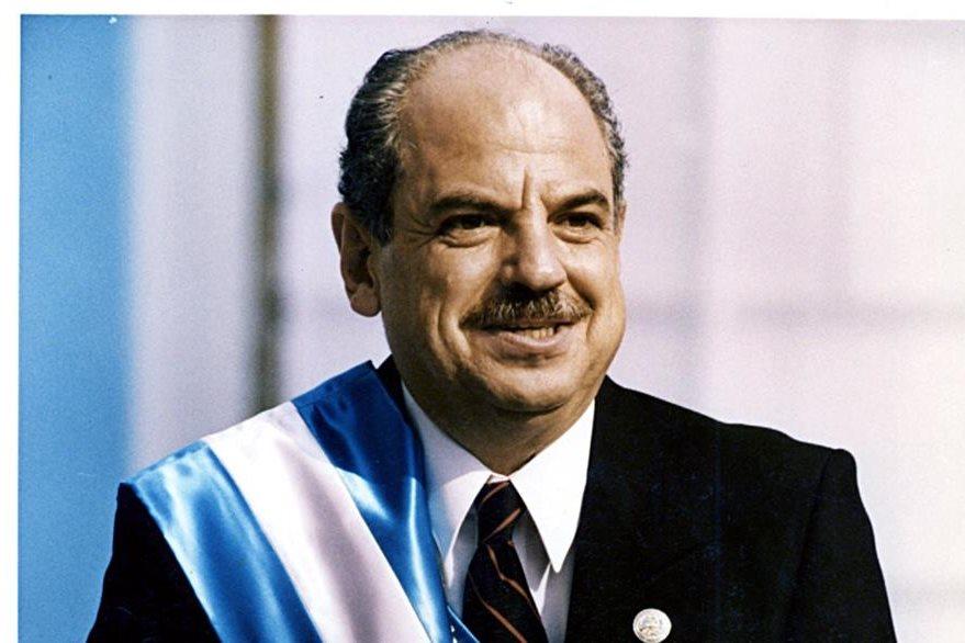 El autogolpista Jorge Serrano fundó el MAS. (Foto: Hemeroteca PL)