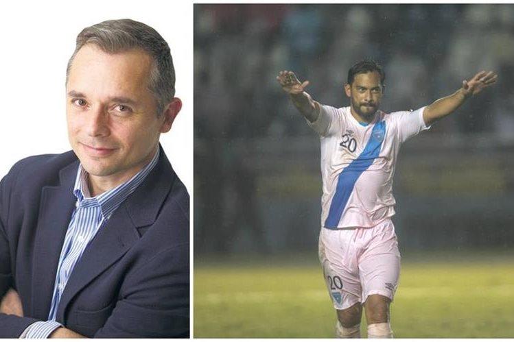 """Alfaro dejó en claro su gran admiración por Carlos """"El Pescado"""" Ruiz. (Foto Prensa Libre: TodoDeportes)"""