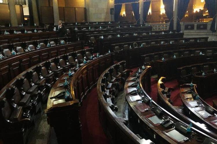 Para mañana está programada una sesión solemne en el Congreso por la celebración de la Independencia de Guatemala.