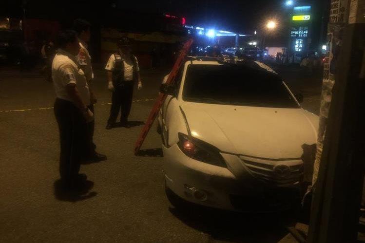 Dos mujeres murieron baleadas en la zona 3 de Mixco. (Foto Prensa Libre: CBV)