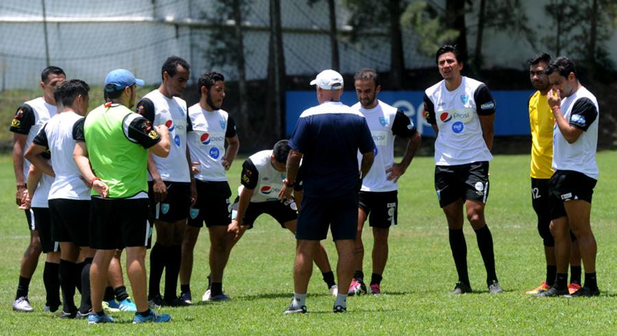 La Selección Nacional regresa a los entrenamientos el próximo lunes 15 de agosto. (Foto Prensa Libre: Hemeroteca PL).