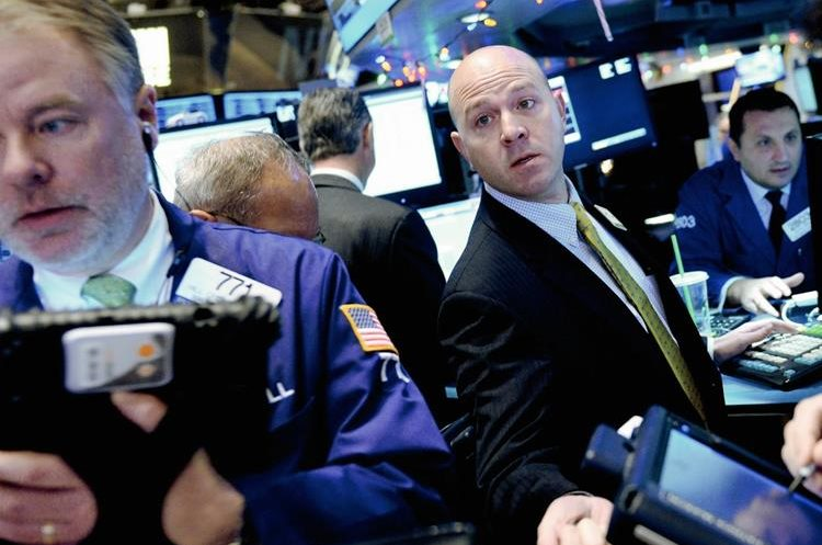 La bolsa de Nueva York ha estado espectante ante el precio del petróleo.  (fotografía Prensa Libre: Hemeroteca PL)