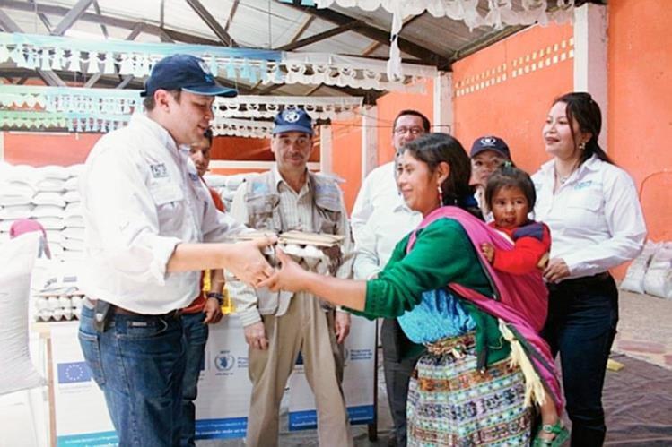 Cooperación Internacional entregó alimentos a familias afectadas por sequía en Comitancillo, San Marcos.