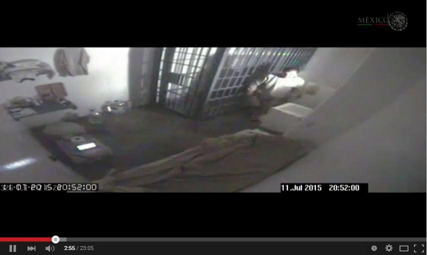 """El narcotraficante, Joaquín """"el Chapo"""" Guzmán, se fugó del penal de alta seguridad el pasado fin de semana. (YouTube)."""