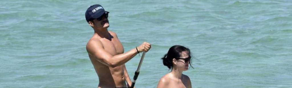 Paparazzi captaron al actor disfrutando del mar. (Foto Prensa Libre: New York Daily News)