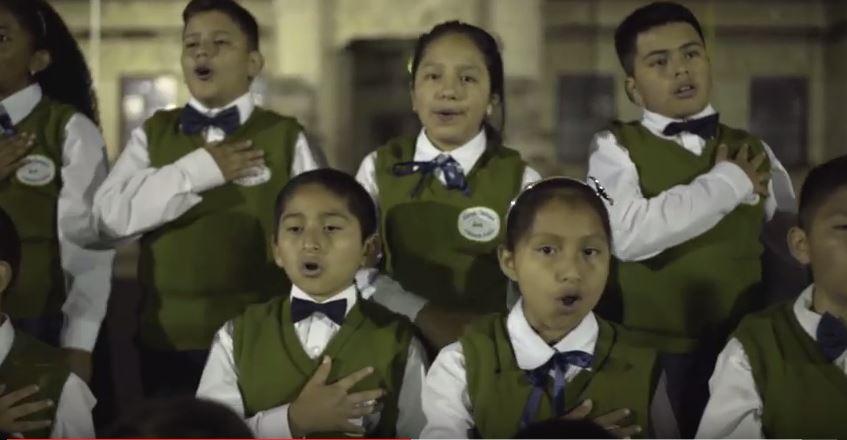 Los niños que participaron son de municipios cercanos a la cabecera departamental de San Marcos. (Foto Prensa Libre: Hemeroteca PL)