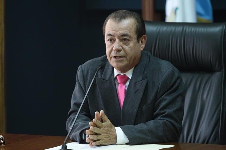 El magistrado del TSE, Mario Aguilar, opina en torno a los acuerdos de la reforma electoral. (Foto: Hemeroteca PL)