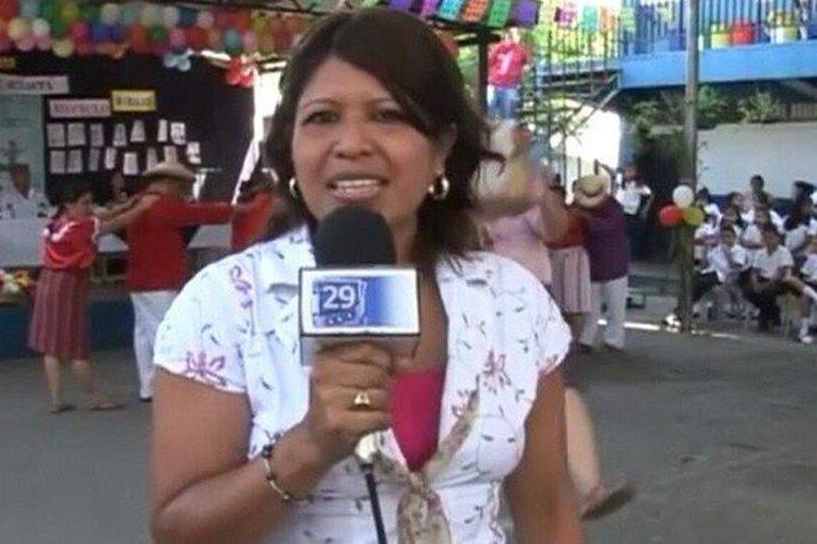 Roxana Cortés, de 34 años, expresentadora del informativo del Canal 29 en la ciudad de Apopa.