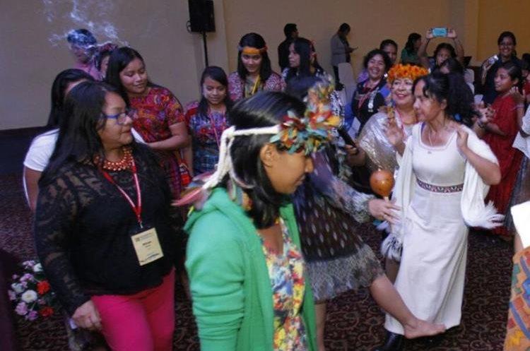 Clausura del VII encuentro continental de mujeres indígenas de las Américas. La actividad se llevó a cabo en el hotel Conquistador Ramada en la zona 4 de la Ciudad de Guatemala.   Fotos: Paulo Raquec  19/11/2015