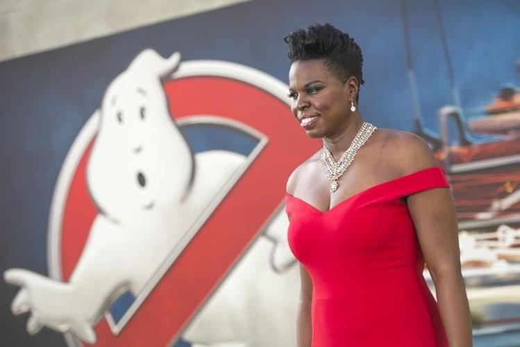 Leslie Jones es protagonista de la película Cazafantasmas que llegará a las salas de cine nacional. (Foto Prensa Libre: AFP)