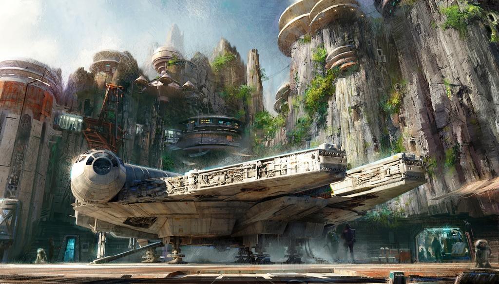 Disney presenta parques de Star Wars que transporta a los visitantes a un planeta nunca antes visto. (Foto Prensa Libre: AP)
