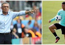 Nawalka asegura que son optimistas de cara al duelo frente a Portugal. (Foto Prensa Libre: TodoDeportes)