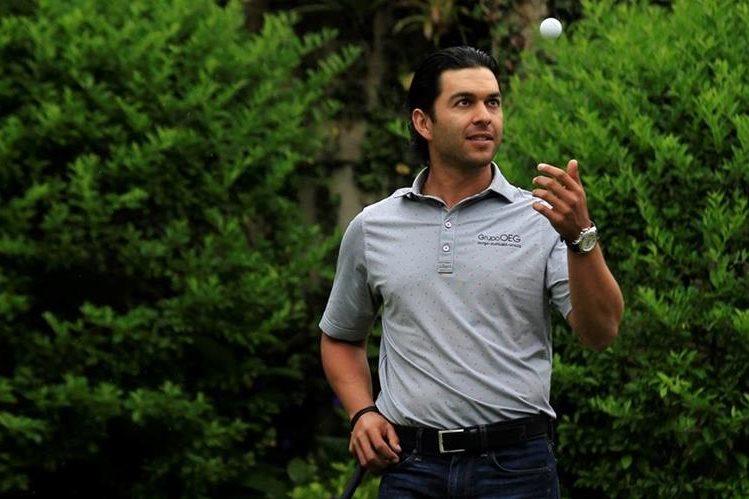 José Toledo espera terminar entre los primeros cinco del PGA Tour Latinoamérica. (Foto Prensa Libre: Carlos Hernández)