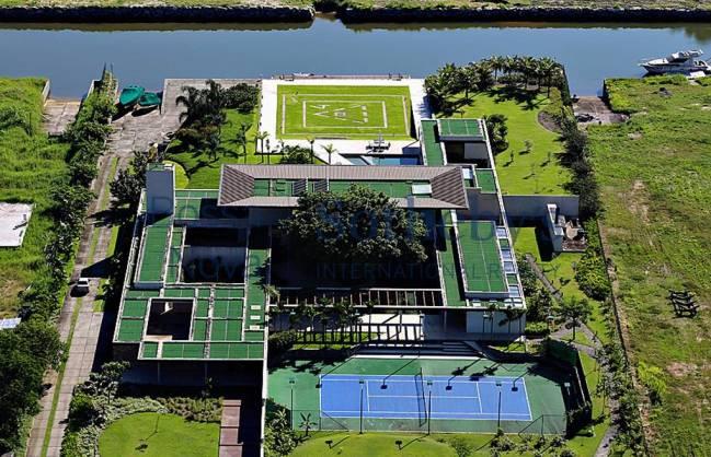 Está sería la mansión que compró el astro brasileño. (Foto Prensa Libre: O´Globo)