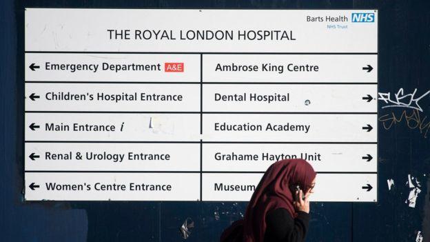 El ciberataque castigó particularmente al sistema de salud de Reino Unido. EPA