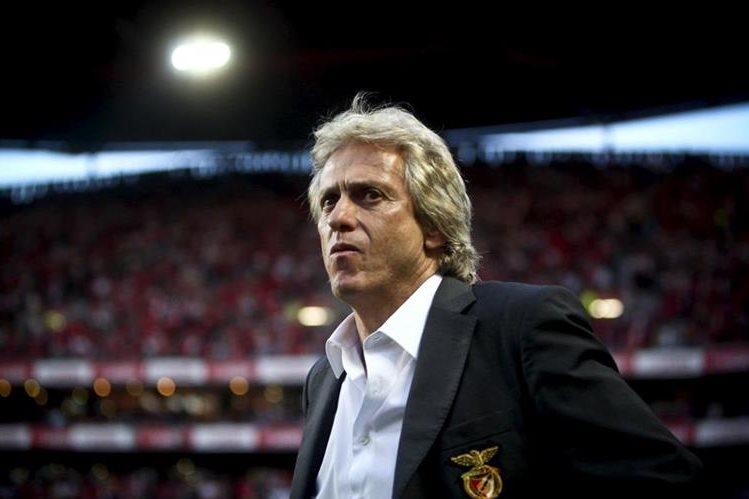 El ex entrenado del Benfica Jorge Jesús puede apelar a la indemnización. (Foto Prensa Libre: Agencias)