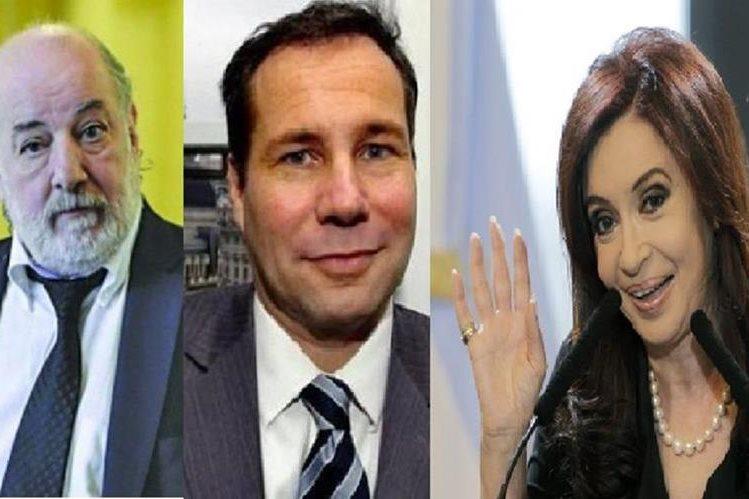 Claudio Bonadio, (i) juez argentino reactiva la denuncia de Alberto Nisman(c) contra Crisitna Fernández.(PL).