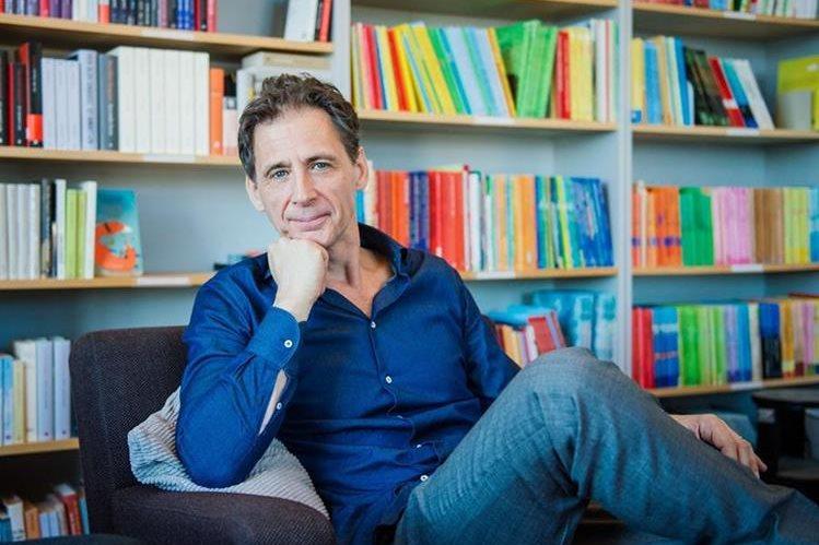 David Lagercrantz presentó la nueva entrega de la saga Millennium. (Foto Prensa Libre: AFP).