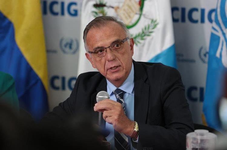 Iván Velásquez fue designado en 2013 por la ONU para dirigir la Cicig. (Foto Prensa Libre: Hemeroteca PL)