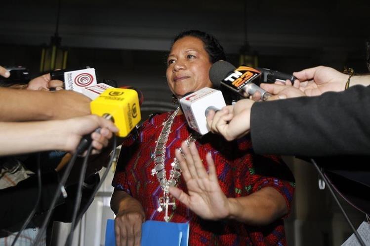 La gobernadora de Alta Verapaz, Estela Ventura, denunció a diputados de FCN-Nación, por discriminación y violencia contra la mujer. (Foto Prensa Libre: Hemeroteca PL)
