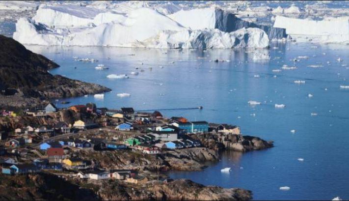 El glaciar Zachariae Isstrom se derrite de manera alarmante. (Foto: i4u.com)