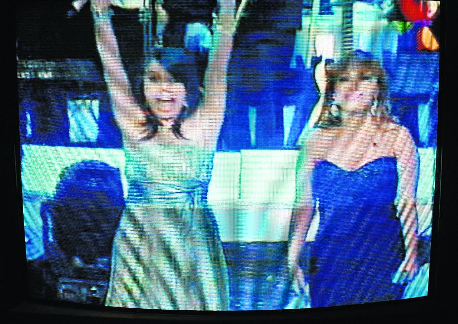 Fabiola Rodas cantante guatemalteca triunfa en la final del Gran Desafío de Estrellas, en Guanajuato, México 26/7/2009. (Foto: Hemeroteca PL)