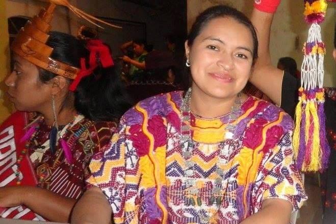 Irma Elizabeth García Gómez fue electa Flor del Maíz de La Esperanza, Quetzaltenango, en el 2012. (Foto Prensa Libre: Carlos Ventura)