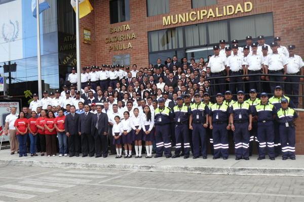 <p>Municipalidad de Santa Catarina Pinula. (Foto Prensa Libre: @PMTSCP)</p>