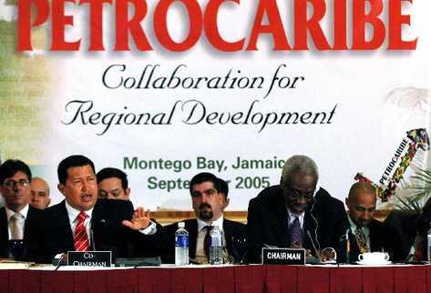 la iniciativa de Petrocaribe fue impulsada por el fallecido presidente Hugo Chávez.