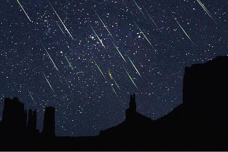 La lluvia de estrellas de las Perseidas se apreciará en el Hemisferio Norte el jueves.