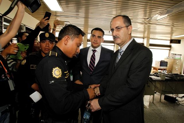 El exdiputado Pedro Muadi se encuentra en prisión preventiva. (Foto Prensa Libre: Hemeroteca PL)