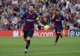 Comienza la fiesta de la Champions con un golazo de Messi.