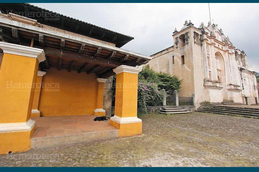 Capilla restaurada en San Juan del Obispo. (Foto: Hemeroteca PL)