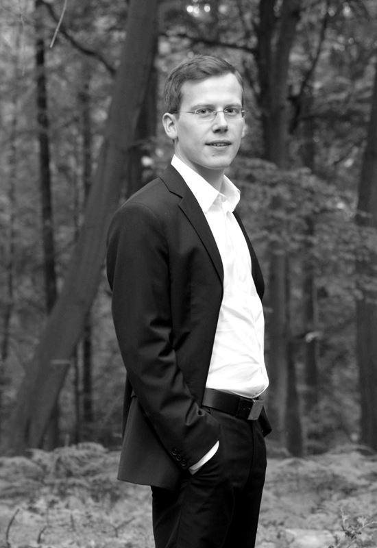 Robert Aust toca el piano desde los 8 años. (Foto Prensa Libre: Cortesía Embajada de Alemania)