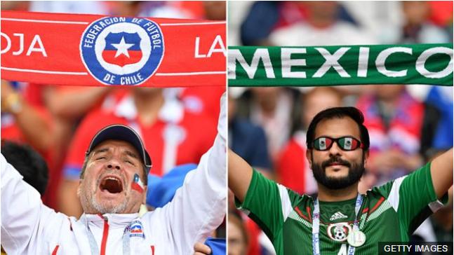 Chile y México tienen claras opciones de poder llegar a la final de la Copa Confederaciones del próximo domingo.