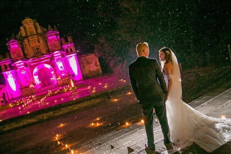 Antigua Guatemala ofrece lugares de ensueño para una boda.Foto Prensa Libre: Rodolfo Walsh