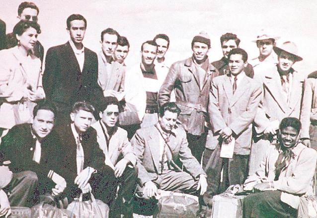 La primera delegación olímpica de Guatemala en Helsinki 1952. (Foto: Hemeroteca PL)