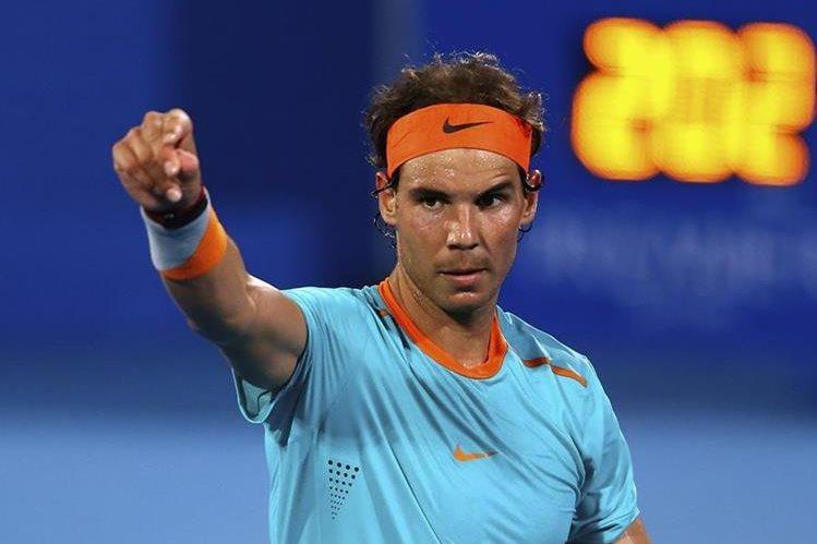 El tenista español Rafael Nadal dijo que se sentiría felíz de ser el abanderado de España en los Juegos Olímpicos. (Foto Prensa Libre: Hemeroteca)