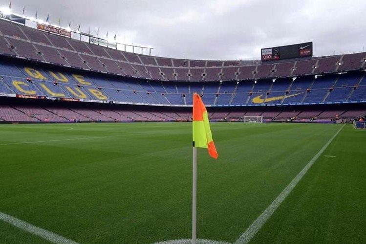 El domingo el FC Barcelona jugó a puerta cerrada el duelo frente a Las Palmas. (Foto Prensa Libre: EFE)