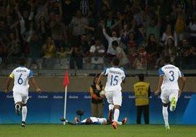 La épica actuación de Honduras en Río continúa, ahora con el triunfo sobre Corea. (Foto Prensa Libre: AP)