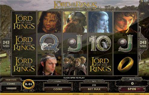 """Los demandantes alegaban que asociar el trabajo de Tolkien con """"el mundo moralmente cuestionable de los juegos en línea y casinos rompía el acuerdo. (Foto Prensa Libre: lordoftheringsslot.org)."""