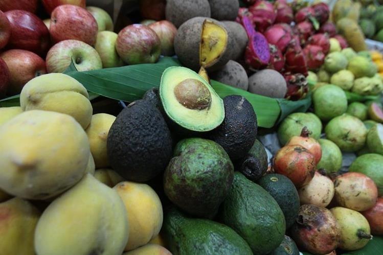 El aguacate incidió en el alza de precios de alimentos en agosto. (Foto Prensa Libre: Hemeroteca)