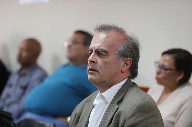 Max Quirin fue representante del sector patronal ante la junta directiva del IGSS. (Foto Prensa Libre: Érick Ávila)