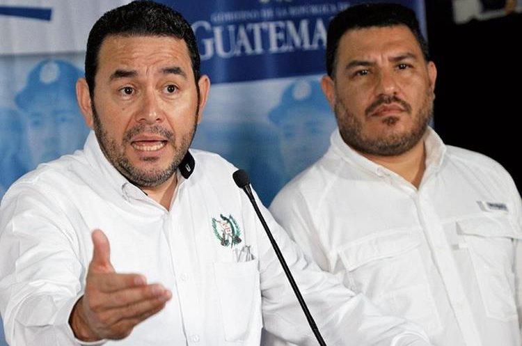 Alonzo es uno de los ministros más cercanos al presidente Jimmy Morales. (Foto Prensa Libre: Hemeroteca PL)